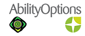 Ability Options  -  Maitland NSW Logo