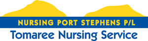 Nursing Port Stephens - Tomaree Nursing Service Logo