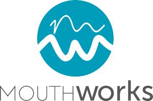 MouthWorks Speech Pathology - Lindisfarne TAS Logo
