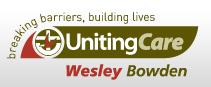 UnitingCare Wesley Bowden - JET Creche Logo
