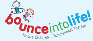 Bounce Into Life: Children's Occupational Therapy Logo