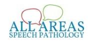All Areas Speech Pathology - Charmhaven NSW Logo