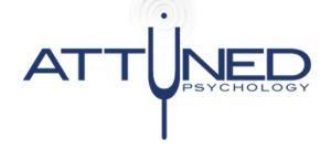 Attuned Psychology - Glenelg South SA Logo