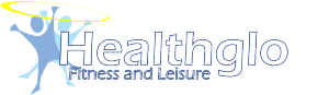 Healthglo Fitness and Leisure Logo
