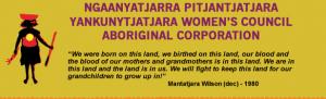 Pitjantjatjara Yankunytjatjara Womens Council Logo