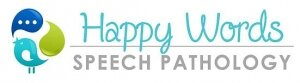 Happy Words Speech Pathology Logo