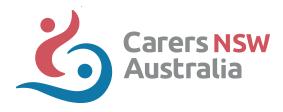 Carers NSW Australia - Sydney NSW Logo