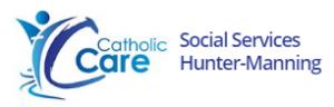 CatholicCare Hunter Manning - Mayfield NSW Logo