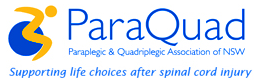 The Paraplegic & Quadriplegic Association of N S W Logo