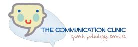 The Communication Clunic - East Maitland NSW Logo