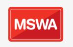 MSWA Multiple Sclerosis - Centennial Park WA Logo