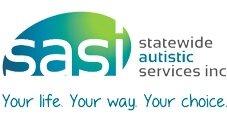 (SASI) Statewide Autistic Services - Frankston VIC Logo