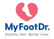 My Foot Dr. - Shailer Park QLD Logo